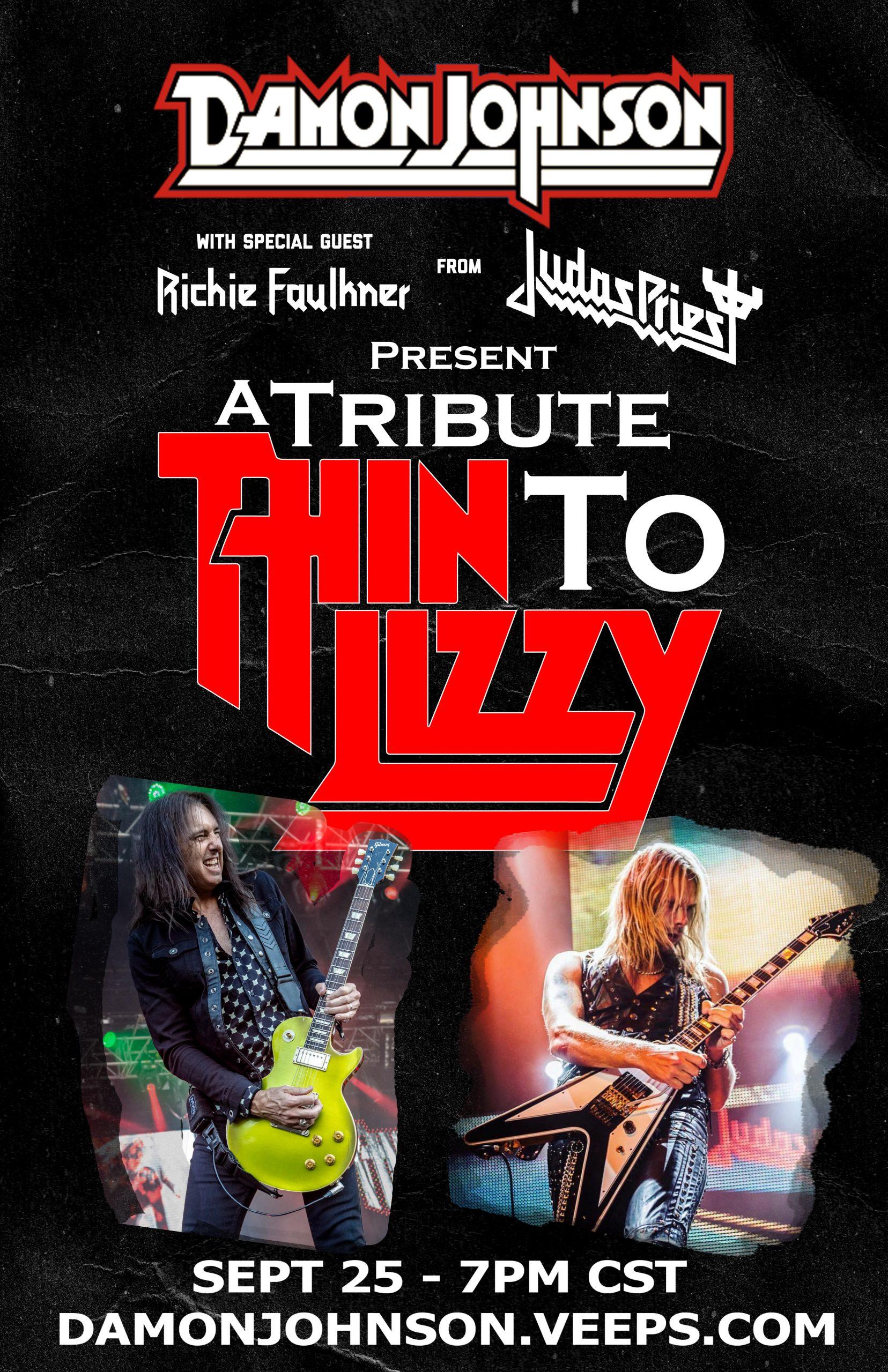 Damon Johnson Get Ready Richie Faulkner Battle Lessons New Album January 15 2020 Thin Lizzy