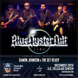 Blue Oyster Cult Damon Johnson Get Ready Cedar Rapids December 29